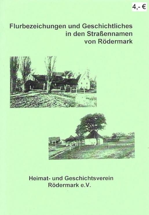 3_Flurbezeichnungen und Geschichtliches in den Straßennamen von Rödermark